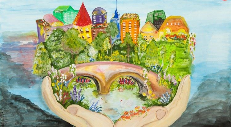 Рисунки на тему тебе любимый город